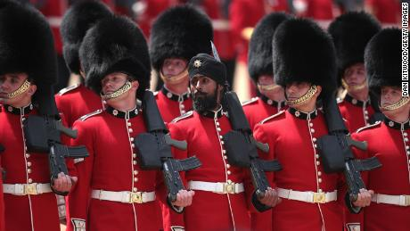 Lall says it was an honor to take part in the  ceremony marking Queen Elizabeth II's official birthday.