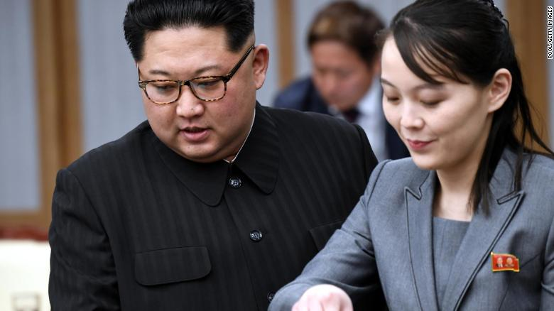 Kim's sister criticises United States and South Korea for holding military exercises