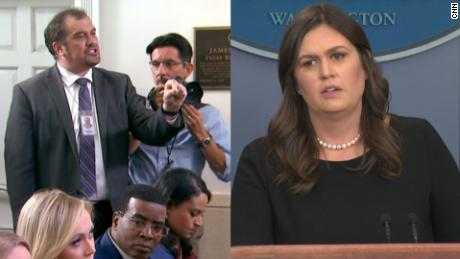 Sarah Sanders criticizes report that she is leaving White House