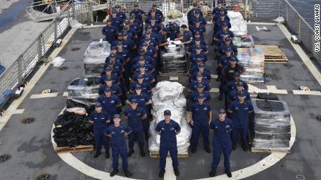US Coast Guard crew seizes cocaine worth $206 million