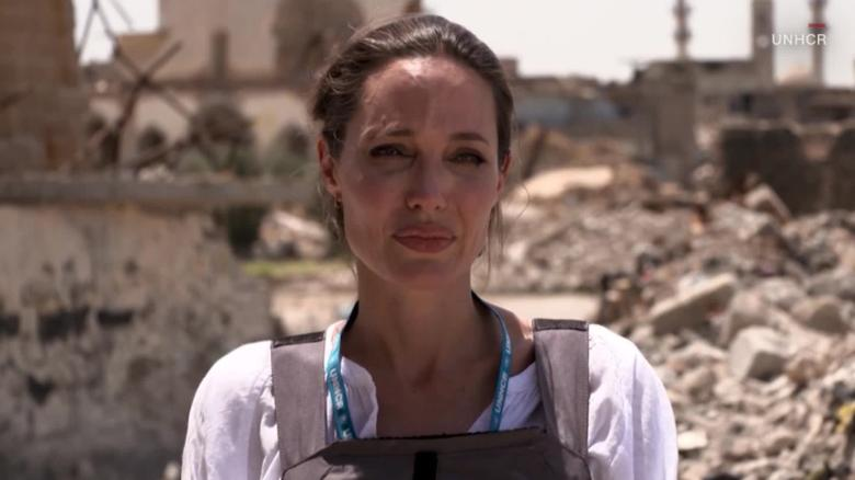 Angelina Jolie urges efforts to rebuild Mosul: 'Worst devastation I've seen'