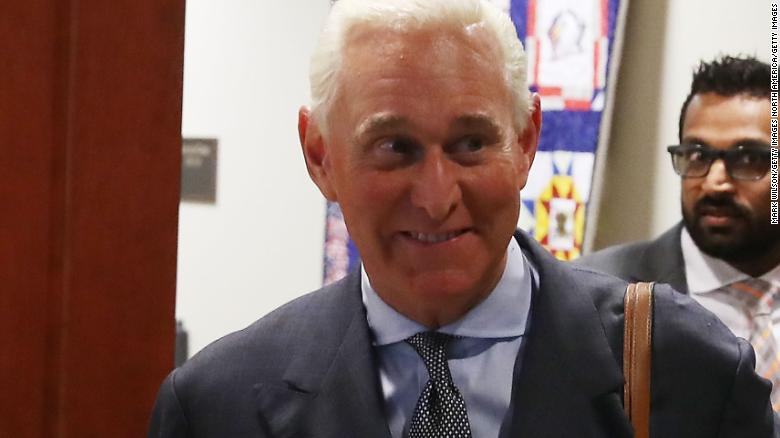 Roger Stone Admits Meeting With Russian Who Promised Damaging Clinton Info