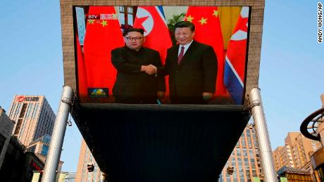 Kim Jong Un ends visit to China with a message for the US