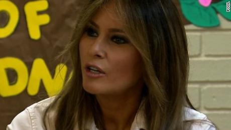 First lady Melania Trump visits McAllen amid crisis over family separation