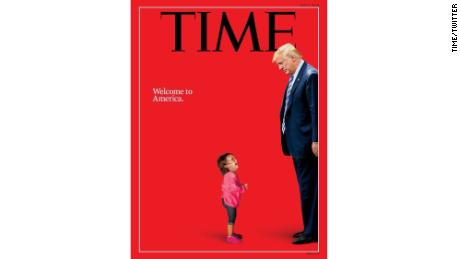 TIME Magazine Cover Features President Trump with Sobbing Migrant Child