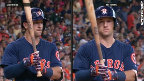Alex Bregman, before and after