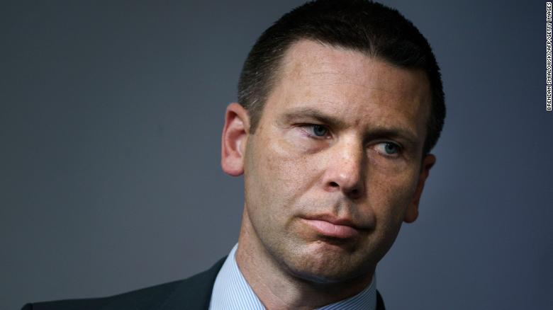Kevin McAleenan will be acting DHS secretary