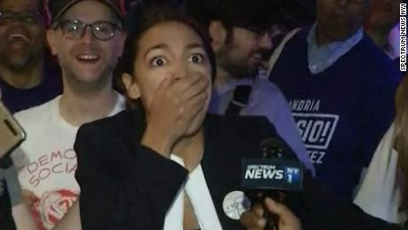 Alexandria Ocasio-Cortez, democratic socialist, beats 10-term incumbent in NYC primary