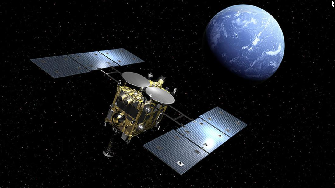 Hayabusa 2: Japan space probe fires bullet into asteroid - CNN