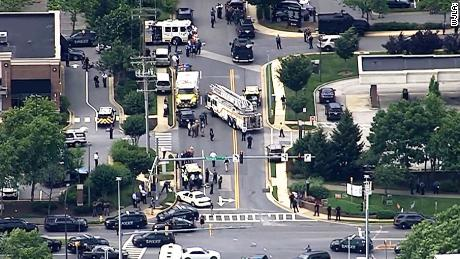 5 killed, others wounded at Maryland newspaper shooting