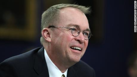Donald Trump picks Mick Mulvaney as acting White House chief of staff