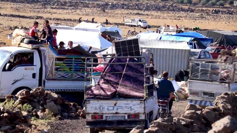 Fears growing over Syrians fleeing continued fighting