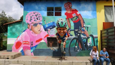 Colombia's cycling obsession