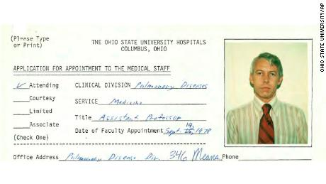 Ohio State has '95 records of student complaint about doctor