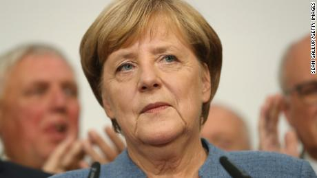 German Chancellor Angela Merkel's coalition could be threatened by the Bavarian election
