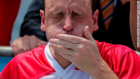 Joey Chestnut Wins His 12th Nathan's Hot Dog Eating Contest