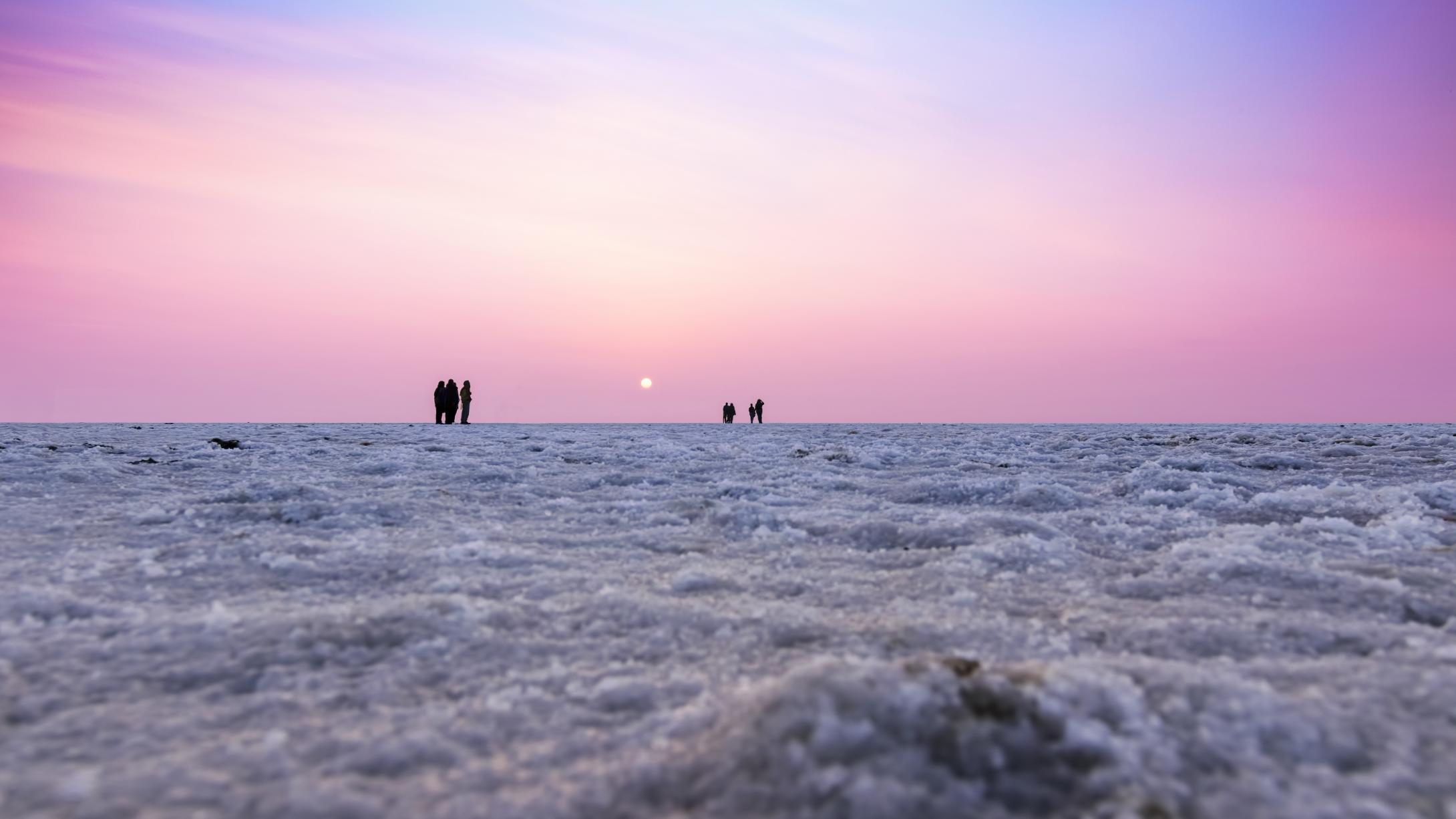 winter of rann of kutch
