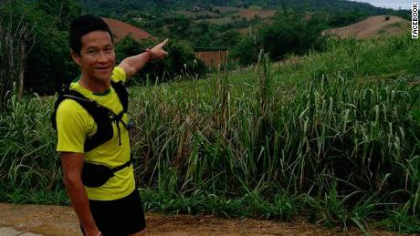 Former Thai Navy Marshal Saman Kunan, who died at the Tham Luang Nang Non Cave Complex during a massive rescue operation to save 12 children and his soccer coach.
