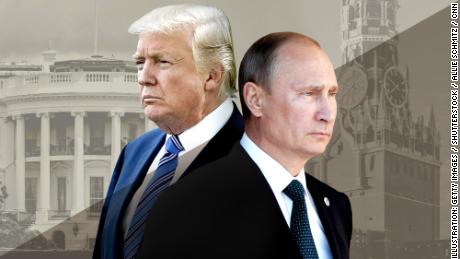 Trump says Putin 'competitor', not enemy