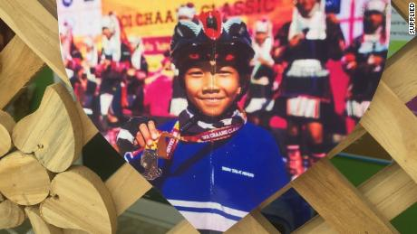 Chanin Viboonrungruang, age 11, is in his last year of the Anubanmaesai primary school in Mae Sai. [19659026] Chanin Viboonrungruang, 11, is in his last year of Anubanmaesai primary school in Mae Sai.