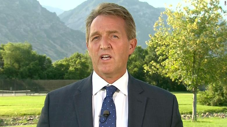 Arizona Sen. Flake Meets With NATO Leaders Concerned About Trump's Rhetoric