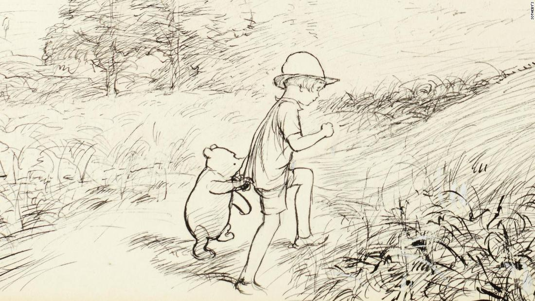 Winnie The Pooh Map Sets Record At Auction Cnn Style