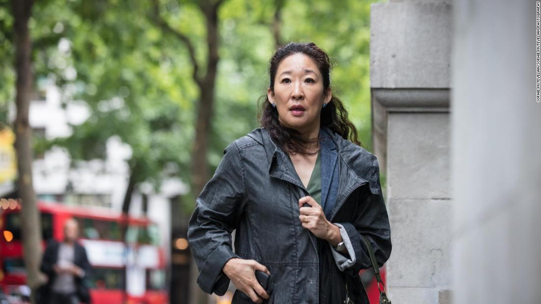 """<strong>""""Killing Eve"""" Season 1</strong>: Sandra Oh stars in this spy-action thriller series centered around two women engaged in an epic game of cat and mouse. <strong>(Hulu) </strong>"""