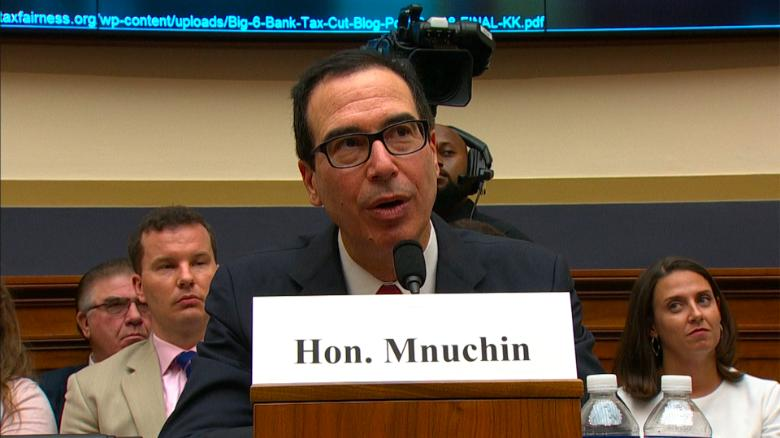 Treasury Secretary Mnuchin says Trump 'supports' the Fed's independence