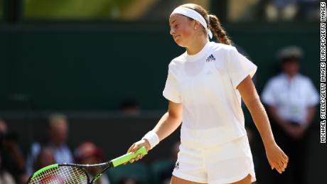 Ostapenko won the French Open in 2017.