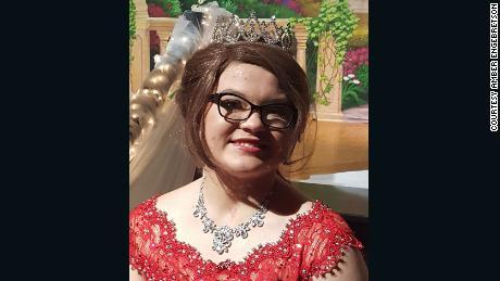The students of Martin County West High School crowned Alyssa Gilderhus prom queen.
