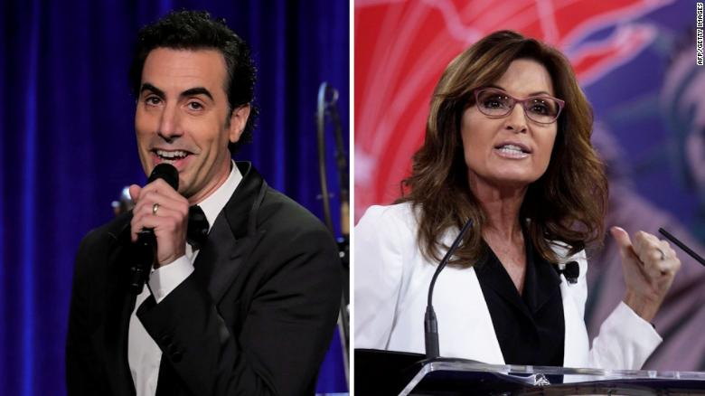 Showtime defends Sacha Baron Cohen against Sarah Palin