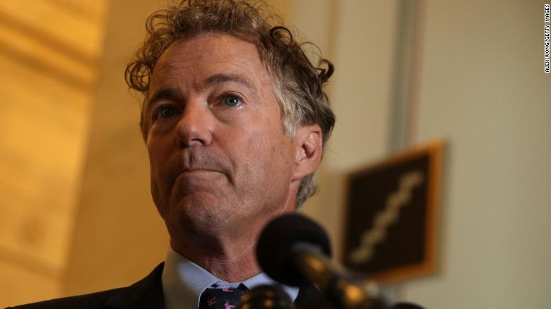 Rand Paul delivered a letter to Vladimir Putin from Donald Trump