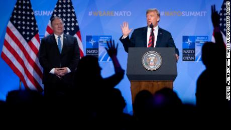 Trump Wonders Why U.S. Should Always Have To Defend NATO Allies