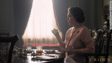 The first glimpse of Olivia Colman as the Queen in 'The Crown'