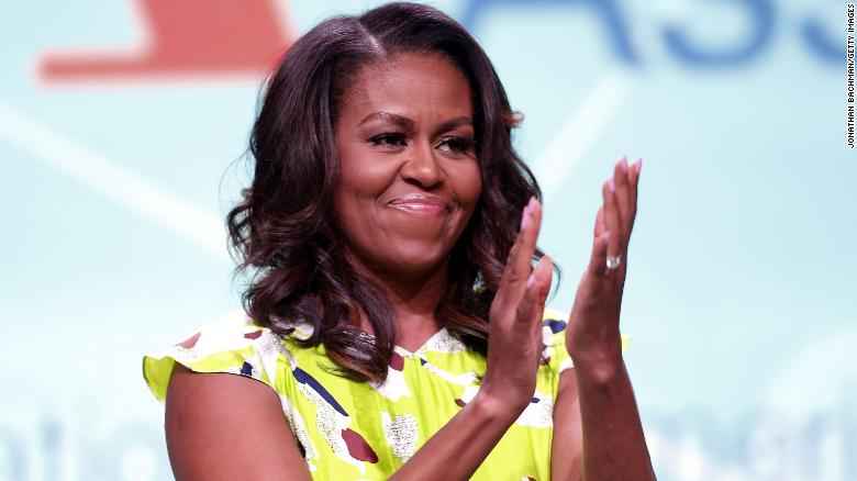 Michelle Obama reveals daughters were conceived by IVF