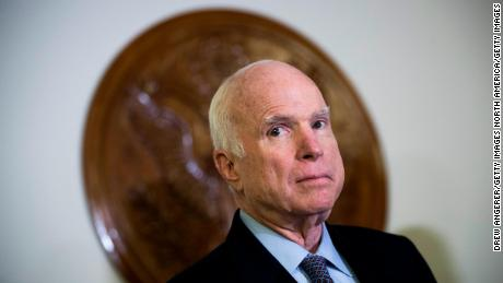 US Senator John McCain dies from brain cancer aged 81