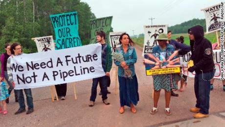 Minnesota pipeline a step closer to being replaced. Native Americans and environmentalists are ready for a fight