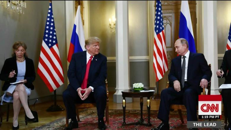 Putin proposed eastern Ukraine vote to Trump in Helsinki