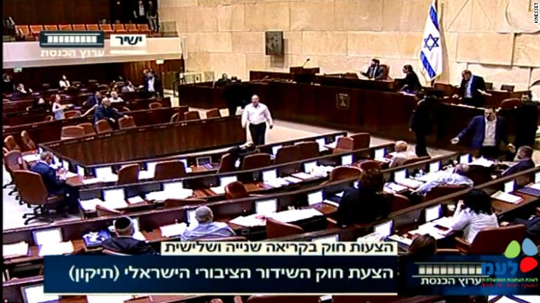 MPs declare Israel an exclusively Jewish nation state