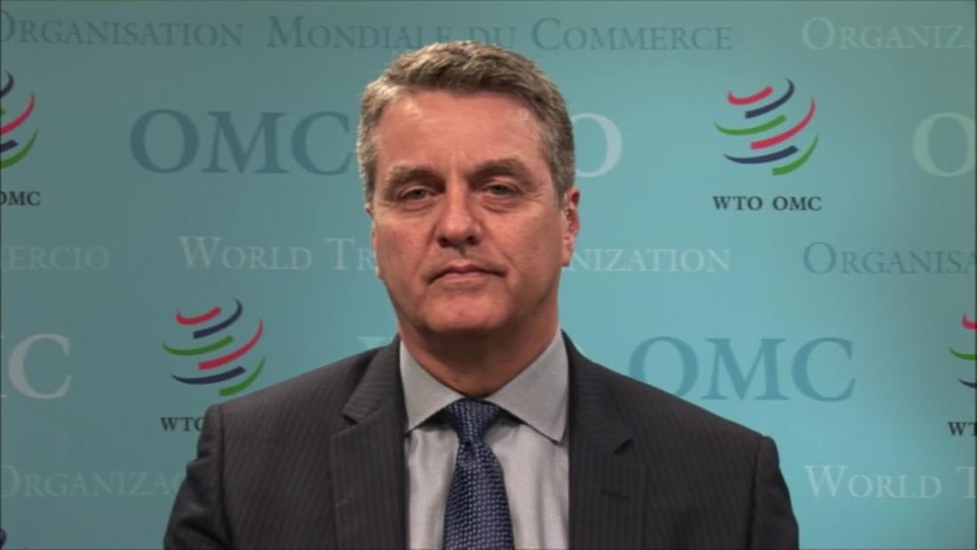 WTO chief: Some may not agree with trump, but can't ignore
