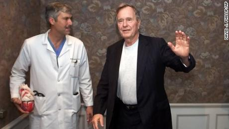 George H.W. Bush's heart doctor shot, killed while riding bicycle