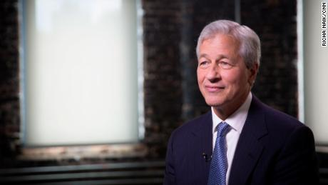 JPMorgan CEO Trade war could reverse economic growth