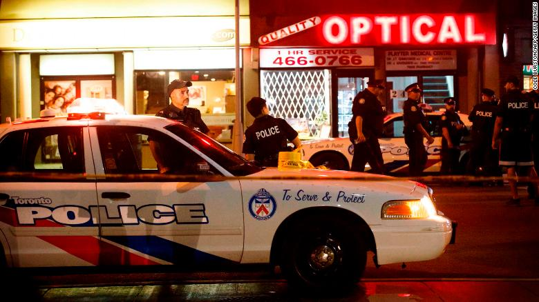 Two dead, 13 wounded in shooting attack in Toronto