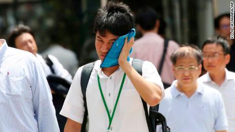 Japan's All-Time Record High Broken as Kumagaya Hits 106 Degrees