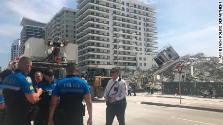 At least one hurt in Miami Beach building collapse