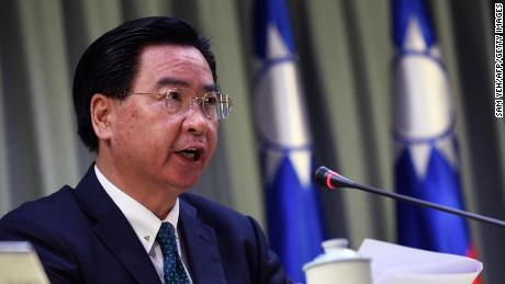 Taiwan vulnerable to Chinese invasion without US, foreign minister says