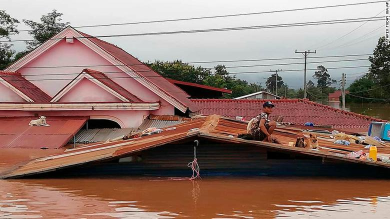 At least 17 dead after Laos dam collapse