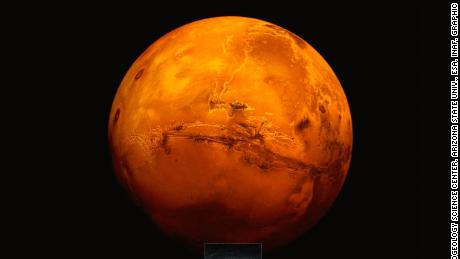 Mars might have salty ponds next to its underground lake, raising the possibility of Martian life