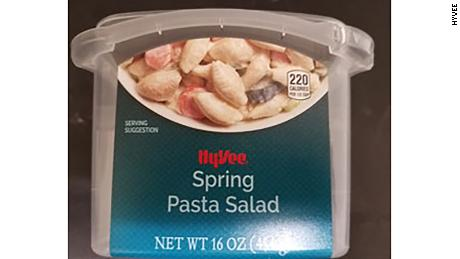 Salmonella outbreak linked to pasta salad expands