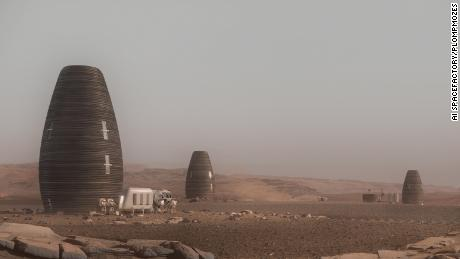 NASA backs design for 3D-printed homes on Mars